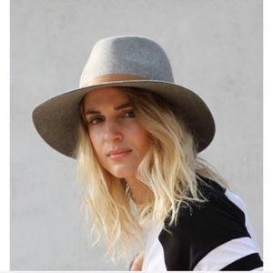 Janessa Leone Wool Fedora Hat